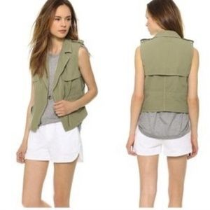 Madewell Modern Safari Vest Medium